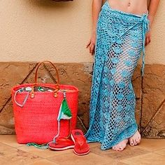Beach Flowers Cover-up | Free #Crochet Pattern | Nurturing Fibres