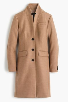 With a sleek silhouette and high collar, this coat might be your next everyday jacket. J.Crew Regent Topcoat, $350, available at J.Crew #refinery29 http://www.refinery29.com/2016/12/132754/pinterest-2016-most-pinned-jackets#slide-30
