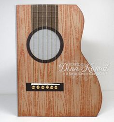 Acoustic Guitar by dini - Cards and Paper Crafts at Splitcoaststampers
