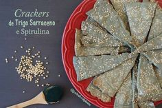 Crackers de Trigo Sarraceno e Spirulina
