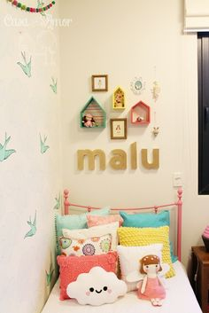 Daydream (Green) bedroom - so cute!