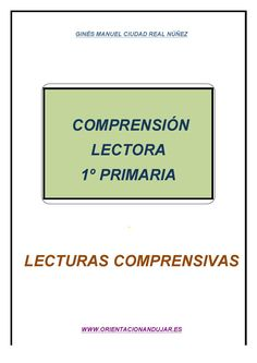 Comprensión lectora 1º de primaria - fichas 1-5 -