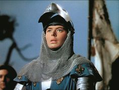 Ingrid Bergman: Joan of Arc. 1948. USA. Directed by Victor Fleming. She was born 100 years ago.