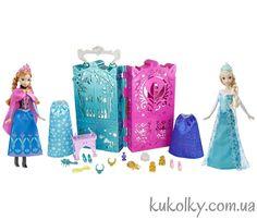 Купить #куклы #Эльза и #Анна в #Украин'е. Дисней (Frosen/Холодное сердце).