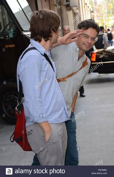 New York, NY, USA. 12th Aug, 2015. James Strouse, Jemaine Clement out and about for Celebrity Candids - WED, New York, NY August 12, 2015. Credit: Derek Storm/Everett Collection/Alamy Live News - F0CWBC from Alamy's library of millions of high resolution stock photos, illustrations and vectors.
