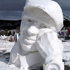 Photo: Chris Adams/Flickr | thisoldhouse.com | from World's Most Amazing Snow Sculptures