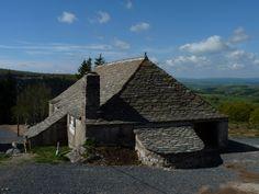 Les Estables, ferme d'où part la source de la LOIRE, France. Photo M. Tournebize.