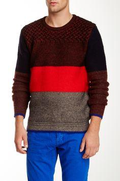 Colorblock Sweater on HauteLook