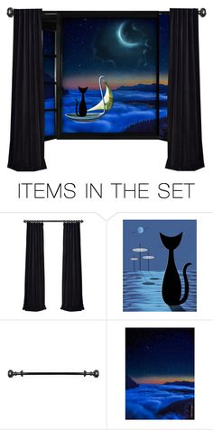 """""""Off to sea in a pea green boat"""" by leaff88 ❤ liked on Polyvore featuring art"""