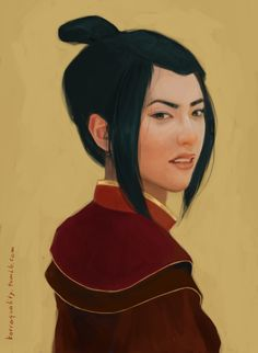 Azula - Avatar and Legend of Korra Realistic Portraits Avatar Ang, Avatar Azula, Avatar Movie, Avatar Characters, Avatar Airbender, Cartoon Characters, Avatar Series, Fictional Characters, The Last Airbender Movie
