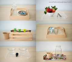 The Kavanaugh Report: 6 Montessori Inspired Trays for Toddlers that Love to Pinch