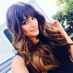Lea's subtle ombré is the style we're craving for Summer.  Source: Instagram user msleamichele