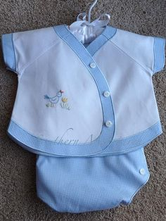 Diaper Shirt and cover Pattern by Debbie Glen