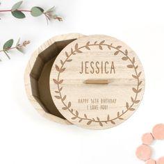 Personalised Birthday Gifts for Grandma Happy 16th Birthday, Birthday Gifts For Grandma, Fabulous Birthday, Grandma Gifts, Personalised Gift Shop, Personalized Birthday Gifts, Retro Sweet Hampers, Milestone Birthdays, Trinket Boxes