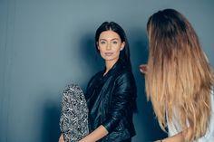 Szykujemy się do sesji bannerowej #Depare #backstage #model #stylist #black #dark #prettymodel