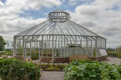 The Hartley Botanic glasshouse at RHS Hyde Hall in Chelmsford. #Greenhouse #Greenhouses #Glasshouse #Glasshouses #Garden #Gardens #Gardening #GardenChat #HartleyBotanic #RHS #RHSHydeHall