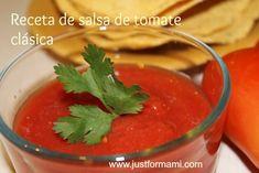 Receta de Salsa de tomate para tostadas.