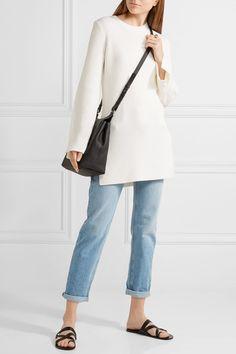 The Row - Nashlyn Asymmetric Ribbed Wool Sweater - Off-white