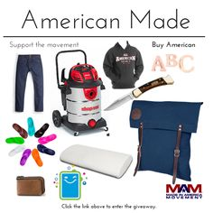 """I just entered the """"It's More Than a Label"""" giveaway with $5,500 in #MadeinAmerica prizes. Enter here & help my chances:"""