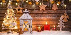 Weihnachtskarten 2017 für Firmen | Kategorie Weihnachtliche Fotografien | Motiv: Märchen aus Holz - Artikel Nummer 11384