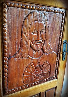 Wooden Door, Tapesco Church Wooden Doors, Costa Rica, Wood Working, Woodworking, Wood Crafts, Carpentry, Wood Doors, Woodworking Jigs