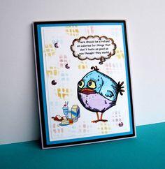 bird crazy - Homemade Cards, Rubber Stamp Art, & Paper Crafts - Splitcoaststampers.com