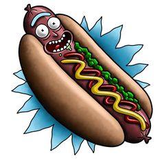 Rick and Morty x Hotdog Rick!!!