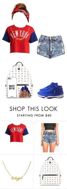 """Cute Tomboy"" by queenofswaggg ❤ liked on Polyvore featuring Chocoolate, Freaker and MCM"