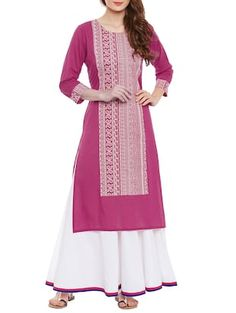 Check out what I found on the LimeRoad Shopping App! You'll love the pink cotton straight kurta. See it here http://www.limeroad.com/products/12911116?utm_source=6c79537446&utm_medium=android
