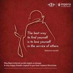 May Bapu's eternal words inspire us always.