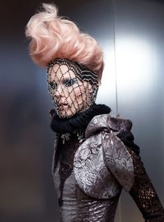 Avant-Garde Hunger Games Hairstyle