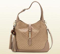 872af79fa56 Gucci New Jackie Diamante Bag Guccio Gucci, Gucci Bags, Gucci Shoulder Bag,  Leather