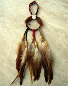 Dream Catcher  Colorful Red and Brown Ladybug by peacefrogdesigns, $25.00