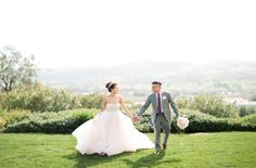 I M Completely Obsessed With Everything About This Bride S Look That Blush Pink Tara Keely Ballgown Those Sparkly Gold Pumps And A Messy Chic Topknot Fit