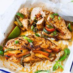 A healthy and super tasty dinner idea that you and your family will love. Chicken Breast Recipes Healthy, Baby Food Recipes, Healthy Dinner Recipes, Cooking Recipes, Diabetic Recipes, Cooking Time, Healthy Cooking, Healthy Eating, Healthy Food