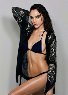 32 Sizzling Gal Gadot Lingerie Pictures That Will Drive Wonder Woman Fans Nuts Beautiful Celebrities, Gorgeous Women, Sexy Bikini, Bikini Girls, Black Bikini, Sexy Stocking, Gal Gadot Photos, Gal Gardot, Gal Gadot Wonder Woman