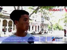 ERMITA 52     : Cubanos de la isla opinan sobre condena a voleibol...