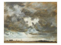 Cloud Study. R. A, 19th Century Print by John Constable at Art.com