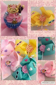 lollipop hair bow