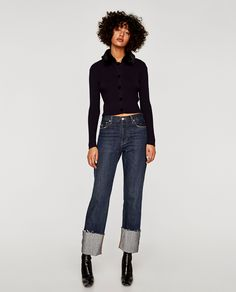 ZARA - WOMAN - THE VINTAGE STRAIGHT JEANS IN SAMURAI BLUE
