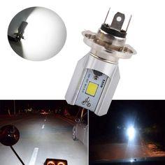 H4 Led Motorcycle Headlight Bulbs COB Led 6-80V 1000LM H/L Lamp Scooter ATV Moto Accessories Fog Lights For Suzuki 6000K White