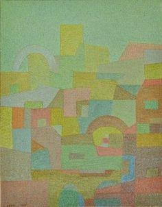 Otto Nebel, 地中海から(南国), 1935
