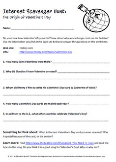Worksheet Internet Scavenger Hunt Worksheet internet scavenger hunt margaret thatcher and hunts on valentines day