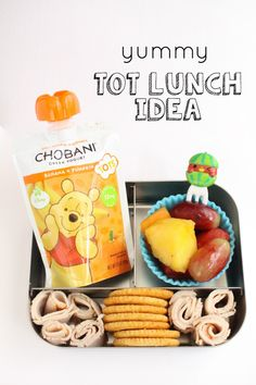 Have you seen these New Chobani Tots Pouches?! The make packing up lunches for my tots a breeze!  A delicious, nutritious way to feed your little ones.  (Sp)