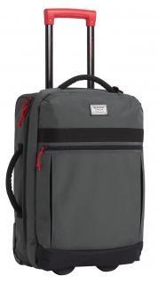 Rollentasche grau rot Burton Overnighter Roller 40 Liter Blotto - Bags & more Nylons, Skateboard, Trolley, Bags, Travel Tote, Suitcase, Gym Bag, Skateboarding, Handbags