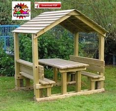 Gazebo Plan/PDF PLAN/Pavilion Plan/Covered Picnic table Plan/shelter plan/picnic table plan/grill Table plan/porch table plan/pdf plan/pdf - All For Garden Diy Wood Projects, Outdoor Projects, Diy Backyard Projects, Picnic Table Plans, Diy Picnic Table, Picnic Area, Kids Outdoor Table, Diy Table, Outdoor Dining