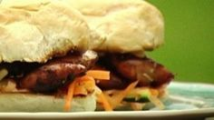 Lorraine 140814 Cookery chicken burgers