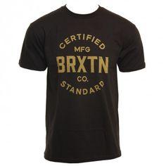 Brixton Clothing Mens Shirt Cane Black