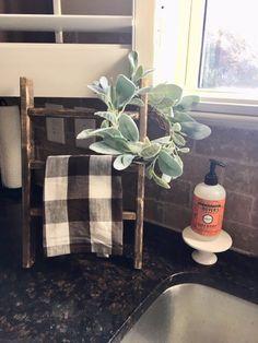 Mini Ladder - Tea Towel Ladder - Farmhouse decor - Hand Towel Holder - Bathroom Decor - Mini Wreath Display - Gallery Wall - Coffee Bar - Mini Ladder – Tea Towel Ladder – Farmhouse decor – Hand Towel Holder – Bathroom Decor – M - Cute Kitchen, Kitchen Decor, Farmhouse Decor, Mini Wreaths, Decor, Hand Towels Bathroom, Bathroom Decor, Towel Holder Bathroom, Hand Towel Holder
