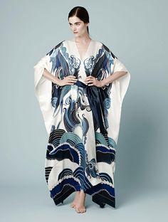Meng Zodiac collection silk robe